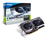 Видеокарта MSI GeForce GTX660 TWIN FROZR 2GB GDDR5 192bit 1033/6008 DUAL-DVI-I/DP/HDMI (N660 TF 2GD5/OC) RTL