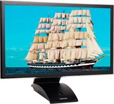 "Монитор 23"" TFT Samsung C23A550U LED-подсветка, 2ms, 250cd/m2, HDMI,  wide, Black"
