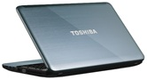 Ноутбук Toshiba Satellite L855-C1M <PSKACR-00T013RU> 15.6 HD/Core i7-3610QM/4+2GB/640GB/AMD Radeon HD 7670M 2GB/DVD±RW/WiFi/BT/Win7 HB/Ice Silver