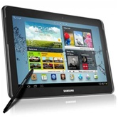 "Планшет Samsung Galaxy Note GT-N8000 EAFSER 10.1"" LED/nVidia Tegra 3 T30 Quad-Core/2Gb/64Gb/3G/WiFi(n)/BT 3.0/GPS/Cam 5Mp+1.9Mp/S Pen/7000mAh/And 4.0/Gray"