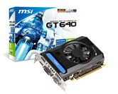 Видеокарта MSI PCI-E GeForce GT640 V3 2GB DDR3 (128bit) 900/1782 DUAL-DVI-I/D-Sub/HDMI (N640GT-MD2GD3 V3) OEM