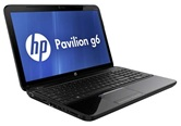 Ноутбук HP Pavilion g6-2158sr (Sparkling black) <B6X04EA> 15.6&quot; LED/Intel Pentium B950/4Gb/500Gb/AMD Radeon HD7670M 1Gb/DVD+RW/WebCam/WiFi/BT/W7 HB/2.48kg