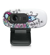 Веб-камера Logitech HD Webcam C270. Цвет: Floral Foray (USB2.0, 1280*720, 3 MP, микрофон) - 960-000919