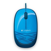 [910-003105] Мышь Logitech M105 optical USB, blue