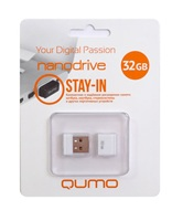 Накопитель Flash USB drive QUMO 32Gb Nano white RET