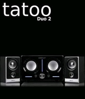Колонки SonicGear Tatoo Duo 2 <2.2, 40 Вт, эквалайзер> - плохая упаковка