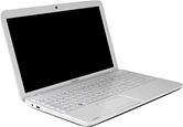 Ноутбук Toshiba Satellite C850-D1W <PSKCER-02H00URU> 15.6 HD LED/Intel Core i3-2328M/4GB/320GB/1Gb AMD Radeon HD 7610M/DVD-RW/WiFi/BT/Non OS/Gloss LuxeWhitePearl with Crossline