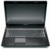 Ноутбук Lenovo G570 <59-338334> 15.6&quot; HD/Intel B800(1.5Ghz)/2Gb/320Gb/1Mb AMD HD7370/DVD±RW/WiFi/Cam/W7HB/Black