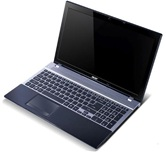 Ноутбук Acer Aspire V3-771G-53216G75Mall <NX.M1WER.013> 17.3&quot; /Intel Core i5-3210M 2.5GHz &quot;Ivy Bridge&quot;/6Gb/750Gb/2Gb Nvidia GF GT650M/DVD±RW/WiFi/USB 3.0/Сam/HDMI/BT4.0/Win8SL gray