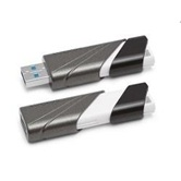 Накопитель Flash USB3.0 drive KINGSTON Data Traveler 32Gb RET  grey-black [DTE30/32GB]