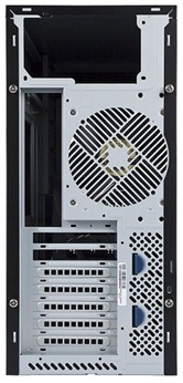 Корпус INWIN PE689BL (Mini Tower, ATX, 500W IP-S500BQ3-3, USB+Audio, черный) <6104287>