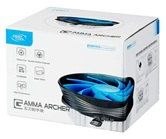 Кулер DEEPCOOL GAMMA ARCHER  S1155/S1156/S775/AM2/AM3/FM1/754/939  (95W, 120mm, 1600 RPM, 21Dba) Retail(плохая упаковка)
