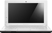 Нетбук Lenovo S110 <59321421> 10.1&quot; WSVGA LED/Intel Atom N2800(1.86Ghz)/2Gb/320Gb/Intel GMA 3600(int)/WiFi/Cam/6cells/W7S/White