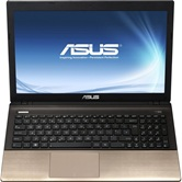 Ноутбук ASUS K45A 14&quot; HD LED/Intel i5 3210M(2.5GHz)/4Gb/320Gb/Intel HD GMA/DVD±RW SM/WiFi/BT/Cam/W7HB/Brown <90N53A724W5D1BRD13AC>
