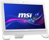 "Моноблок MSI AE2051-011RU White 20"" (1600 x 900) / Multi-touch panel/AMD Dual CoreE2-1800 (1.7GHz)/4Gb/500Gb/AMD Radeon HD 7340/DVD±RW DL/WiFi/Web-cam 0.3M/HDMI/Keyboard&Mouse(USB)/W7 Premium/White"
