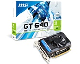 Видеокарта MSI GeForce GT640 1GB DDR3 128bit 902/1620 DUAL-DVI-I/D-Sub/HDMI (N640-1GD3) RTL