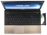 Ноутбук ASUS K55VJ 15.6&quot; HD LED/Intel Core i5 3230M(2.6GHz)/4Gb/750Gb/2Gb nVidia 635M/DVD±RW SM/WiFi/Cam/Win8/Brown <90NB00A1-M04140>