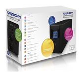 ИБП  Ippon Back Power LCD Pro 600  (интерфейс RS-232, USB, LCD-экран)