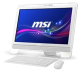 "Моноблок MSI AE2081-014RU White 20"" (1600 x 900) LED/Multi-touch/Intel Pentium G645/4Gb DDR3/500GB /Integrate Intel HD Graphics 2000/ DVD±RW/Wi-Fi/Keyboard&Mouse (USB) / W7PRO"