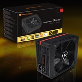 Блок питания Thermaltake Toughpower Grand  ATX 650W  80+ Gold APFC, 140mm fan, Cab Manag, RTL