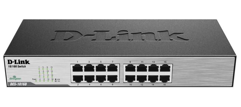D-Link 16x10/100Mbps