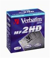 "Дискета 3.5"" 1.44Mb DS/HD Verbatim DL+ 10 шт, teflon, картон"