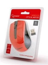 Мышь Gembird MUSW-101-R USB / Wireless /1200 dpi / Red