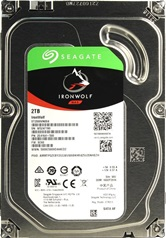 Жесткий диск 2Tb Seagate ST2000VN004 (SATA 6Gb/s, 5900 rpm, 64Mb) IronWolf