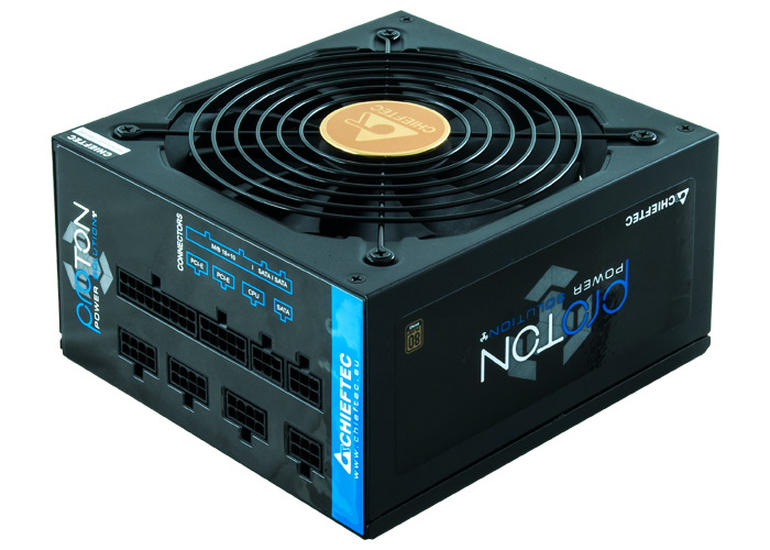 Блок питания Chieftec Proton BDF-650C (ATX 2.3, 650W, 80 PLUS BRONZE, Active PFC, 140mm fan, Full Cable Management) Retail
