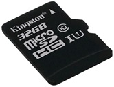 Карта памяти MicroSDXC 32GB  Kingston Class 10 UHS-I U1 Canvas Select  [SDCS/32GBSP]