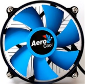 Кулер Aerocool BAS-B9+ LGA-1150/51/55/56 (54шт/кор, TDP 95W, FUN 95mm, Al) Bulk
