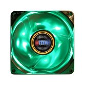 Вентилятор  Titan 80мм TFD-C8025L(M)12Z/LD3/RB Crystal fan с подсветкой (Перех-к 3pin-4pin,3 Green LEDs)  Retail blister