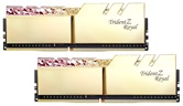Модуль памяти DDR4 G.SKILL TRIDENT Z ROYAL 32GB (2x16GB kit) 3000MHz CL16 1.35V / F4-3000C16D-32GTRG / Gold