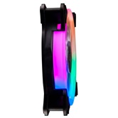 Вентилятор 1STPLAYER R1 / 120mm, 5 color LED, 3-pin, 1000 rpm / R1 bulk