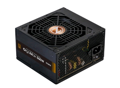 Блок питания Zalman ZM550-GVII (ATX 2.31, 550W, Active PFC, 120mm fan, 80Plus Bronze) Retail