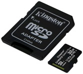 Карта памяти MicroSDXC 32GB  Kingston Class 10 UHS-I U1 Canvas Select Plus + адаптер  [SDCS2/32GB]