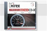Диск CD-R 700Mb Mirex MAXIMUM 52x  Slim  [120052A8S]