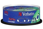 Диск CD-R 700Mb Verbatim 52x  Cake box, 25шт