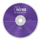 Диск CD-RW 700Mb Mirex 24x  Cake box, 10шт  [121003A8L]