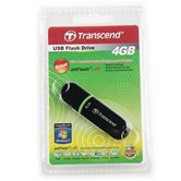 Накопитель Flash USB drive Transcend JetFlash V30  4Gb черный small size ret [TS4GJFV30]