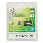 Карта памяти SONY Memory Stick M2 1GB   Original  в комплекте с card reader USB [MS-A1GU2]