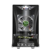 Вентилятор Titan 80x80x25мм TFD-8025GT12Z/RB Green Vision (40шт/кор,1400rpm,<17dBA, бесшумный) Retail blister