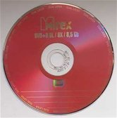 Диск DVD+R 8.5Gb Mirex Dual Layer  8x, Cake box  10шт [UL130062A8L]
