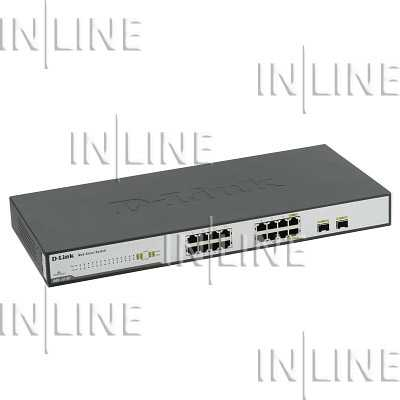 Коммутатор 16-port 10/100/1000 Desktop Switch D-link  (DGS-1216T/GE)