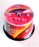 Диск CD-R 700Mb VS 52x Cake box,  50шт