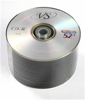 Диск CD-R 700Mb VS 52x Bulk,  50шт