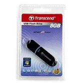 Накопитель Flash USB drive Transcend JetFlash V30  8Gb черный  ret [TS8GJFV30]