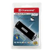 Накопитель Flash USB drive Transcend JetFlash V10 Sliding 8Gb black ret [TS8GJFV10]