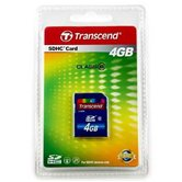 Карта памяти Secure Digital Card 4Gb Transcend  [TS4GSDHC6] Class 6 Retail