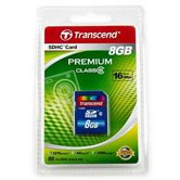Карта памяти Secure Digital Card 8Gb Transcend  [TS8GSDHC6] Class6  Retail